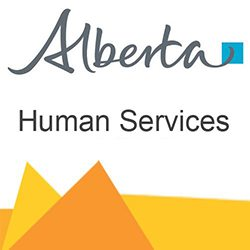 Alberta Human Services Logo