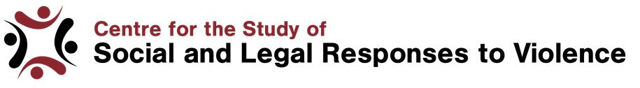 Centre for the Study of Social and Legal Responses to Violence Logo