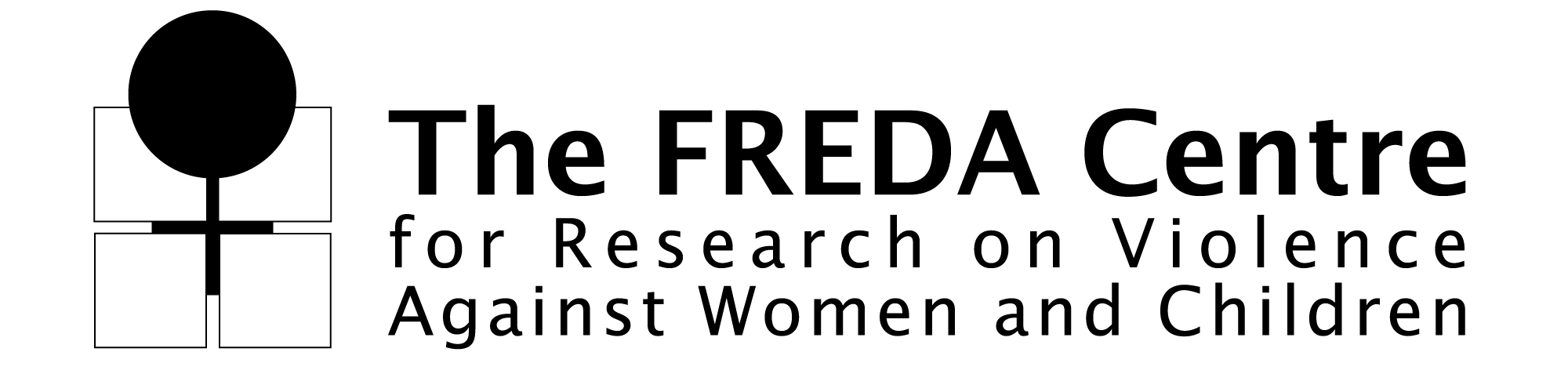 FREDA Centre for Research on Violence Against Women and Children Logo