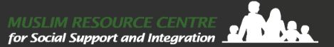 Muslim Resource Centre for Social Support and Integration Logo