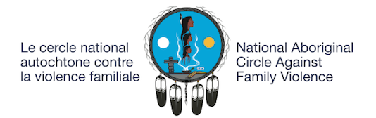 National Aboriginal Circle Against Family Violence Bilingual Logo