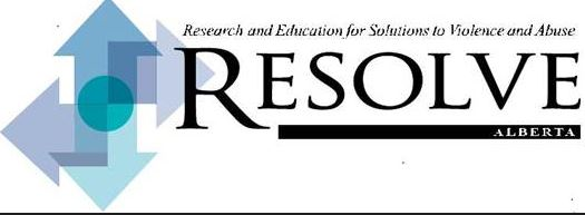 Research and Education for Solutions to Violence and Abuse Calgary (RESOLVE Calgary) Logo