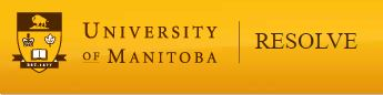 Research and Education for Solutions to Violence and Abuse Manitoba (RESOLVE Manitoba) Logo
