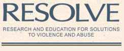 Research and Education for Solutions to Violence and Abuse Saskatchewan (RESOLVE Saskatchewan) Logo