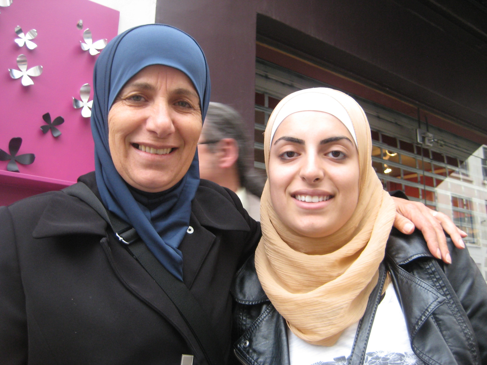 Sonia and Maha El-Birani