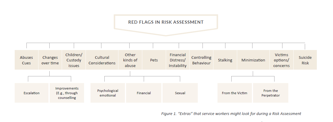 "Figure 1 ""Extras"" that service workers might look for during a Risk Assessment"